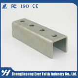 終わりの平行フランジ鋼鉄Uのリップチャネルの鋼鉄