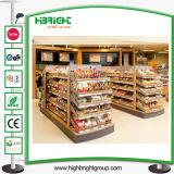 Runde Form-Supermarkt-Backen-Brot-hölzerner Ausstellungsstand