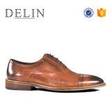 2018 Fashion натуральная кожа Custom мужчин проветрите помещение платья обувь
