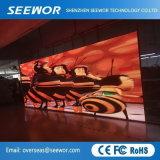 O elevado contraste P6mm LED em Cores no interior do painel de exibição para a fase de aluguer