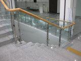 Мансарда стекла из нержавеющей стали перила/стекла с Balustrade Закаленное Матовое стекло