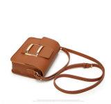 小さい正方形の折り返し袋の小型女性のメッセンジャーのCrossbody袋(WDL0823)