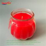 로즈 Ribbed 빨간 결정은 재생한 사용으로 불빛에 비춰 조사할 수 있다