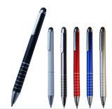 Heißes verkaufenqualitäts-Form-Förderung-förderndes bekanntmachendes preiswertes multi Plastikmetall mit Zeiger-Rollen-Kugelschreiber