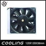 La minera hormiga Rig 120mm 120x120x38mm 12V 6000rpm 4 cable 253.2 Cfm para Bitcoin Miner Rig China Fan