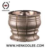 140mm marbre Electroplated Diamond pour roue abrasive de disque de meulage
