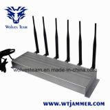 6 emittente di disturbo del telefono 315MHz 433MHz delle cellule di alto potere 3G dell'antenna