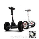 2つの車輪の電気一人乗り二輪馬車のスクーターのバランスをとっている縦のバランスの自己