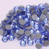 Оригинальные кристально чистый свет Сапфир Ss16/SS20 гладкой стороне исправление стразами на устраивающих платья