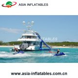 Yate de diapositivas inflables, toboganes inflables de calidad comercial de barcos