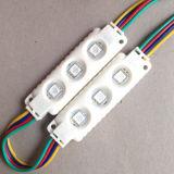 l'Élevé-Éclat SMD5050 de 0.72W 3LEDs imperméabilisent le module de signes de DEL pour des signes de DEL/annonçant le Signage/Lightbox