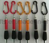 Qualité en gros Carabiner en aluminium, trousseau de clés de Carabiner avec le blocage