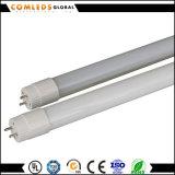 세륨에 실내를 위한 높은 루멘 T8 유리제 LED 관