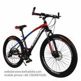 26 bici de montaña barata del acero de carbón de la pulgada 21speed