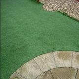 Verde e marrom de Fio Enrolado em forma de C grama para jardim