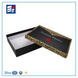 Caja de embalaje cosmética de la cartulina del papel hecho a mano con la pieza inserta de la espuma