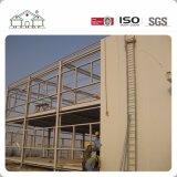 노동자를 위한 Duoha에 있는 큰 경간 샌드위치 위원회 빛 강철 구조물 야영지 조립식 집