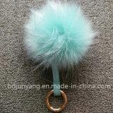 Sfera lanuginosa della pelliccia del Racoon di falsificazione di modo per il cappello