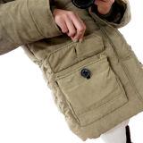 Одежды женщин Windbreak застежки -молнии куртка вниз на зима Outdoors