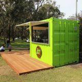 Duik de Staaf van de Verschepende Container van het Restaurant van de Koffiebar van de Container Op