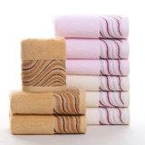 Main 100% promotionnelle de coton de face/essuie-main d'hôtel/à la maison de Bath