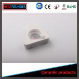Wear-Resistant aislado de tubo de cerámica de alúmina blanco