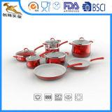 Установленный Cookware бытового устройства OEM Nonstick алюминиевый (CX-AS1302)