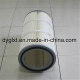 La polvere di granigliatura di alta precisione che rimuove la pellicola di poliestere ha coperto la cartuccia di filtro dell'aria