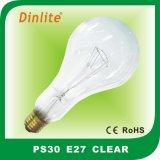 Lumière à haute luminosité PS30 E27 ampoule à incandescence claire / givrée