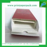 Rectángulo de empaquetado rígido del perfume de la manera de la fragancia del Bb de la crema del papel cosmético de botella de cristal