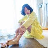 Accappatoio/pigiama/indumenti da letto/indumenti da notte promozionali della cialda