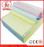 Hoja de papel sin carbón del papel de copia NCR