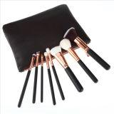 構成のブラシセットの化粧品の専門家の必要な8部分は旅行袋が付いているブラシキットを構成する