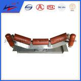 El transportador tensor, polea de acero, a través de la polea (DTII, TD75) para el transporte de transportador de correa