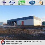 La construcción de prefabricados de acero para almacén en el Parque Industrial