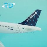A321neo Airbiue het Model van 22cm 1/200 Vliegtuigen van de Desktop voor PromotieGift