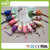 Brevi giocattoli del gatto del mouse di cotone della peluche del Catnip