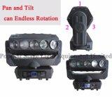 3-Face 5X12W LED bewegliches Hauptträger-Licht