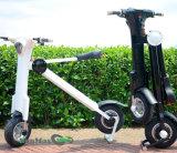 Motocicleta elétrica 48V 500W da cor branca para mercados europeus