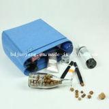 Personalizar el fieltro de lana finamente elaborados granada de mano cartera