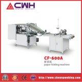 máquina de cosido de pliegos de papel de 1-6m m con CF-600A plegable negativo