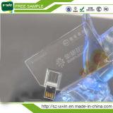 Флэш-память USB визитной карточки хорошего качества
