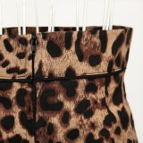 Он-лайн оптовые юбки карандаша печатание леопарда Manufacturerwomen макси