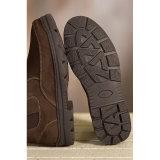 De echte Toevallige Schoenen van de Winter van de Mensen van de Laarzen van de Enkel van het Leer