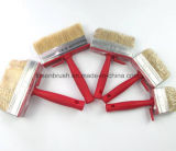 هلب محترف طبيعيّة حمراء بلاستيكيّة مقبض دهانة [بروش كلنينغ] سقف قالب فرشاة