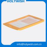 À vendre des supports plastiques en titulaire de carte de crédit avec cordons colorés