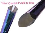 Colore di alta qualità che cambia la pellicola viola della finestra di automobile del Chameleon