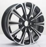 Negro de 15 pulgadas de la rueda de aleación de aluminio alquiler de coches