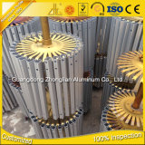 La série 6000 l'Extrusion de profilés en aluminium aluminium extrudé CNC en usine
