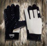 Рабочая Gloves-Safety Glove-Industrial Glove-Weight Lifiting Glove-Silicone вещевого ящика